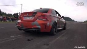 宝马BMW 1系 M Coupé 改装 Akrapovic Evolution排气声浪